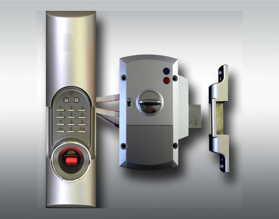sécurité assurée avec les fermeture biométrique