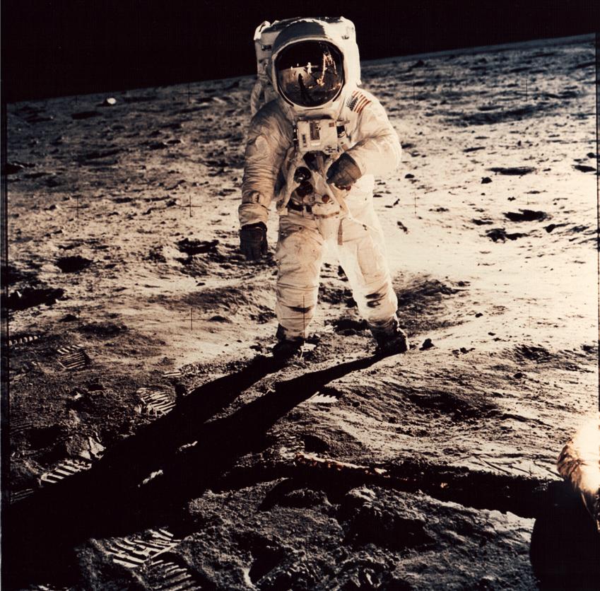 Nasa. 20 juillet 1969. L'Homme se pose sur la Lune.