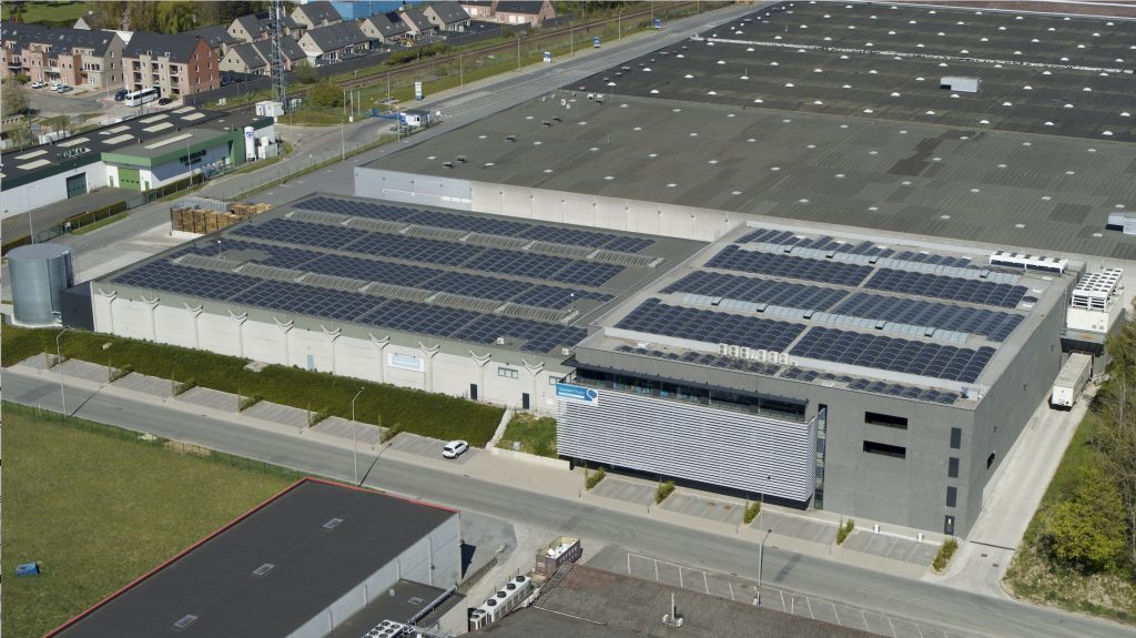 nouvelle usine smart-flow en Belgique